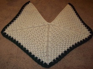 Mirth - a knit shawl designed by Stefanie Japel