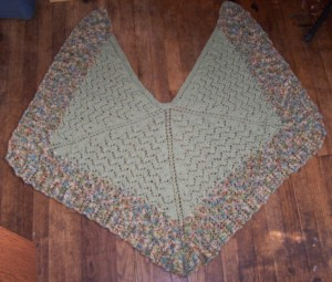 A Second Mirth Shawl designed by Stefanie Japel