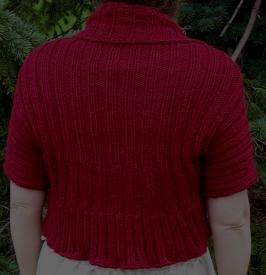 Sherry's Easy Shrug - An Unwind Design