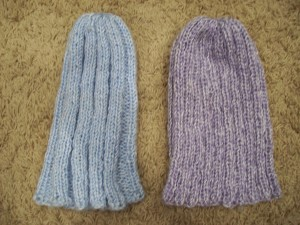 Knit Ribbed Hats