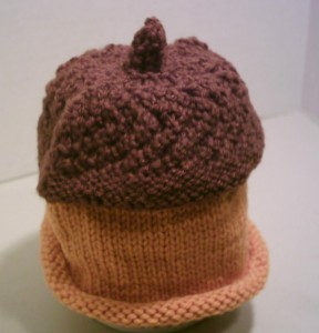 Acorn Hat designed by Rita F. Bartholomew