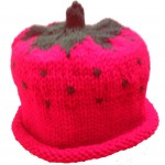 Strawberry Hat (Kid's Fruit Caps designed by Ann Norling)